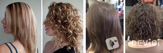 биозавивка на короткие волосы фото