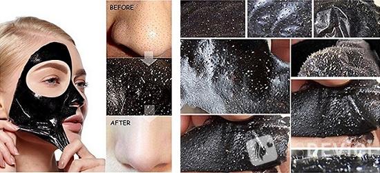 Как работает черная маска от черных точек