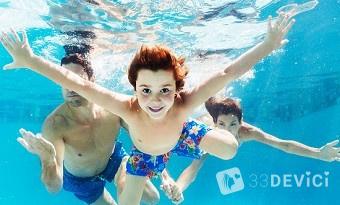 как научиться плавать детям