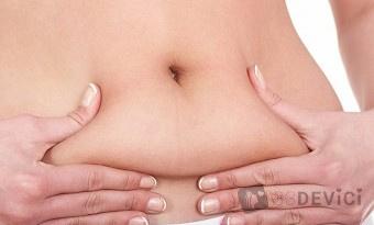 как убрать живот после родов