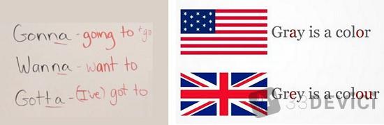 отличия разговорного английского от литературного