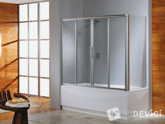 стеклянная шторка для ванны своими руками