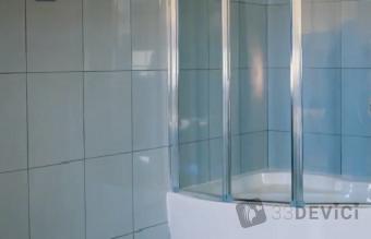 как крепится стеклянная шторка для ванной