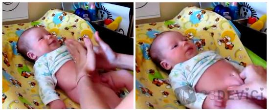 массаж от коликов у новорожденных