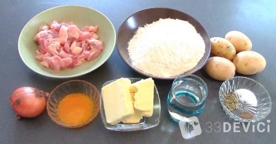 курник пошаговый рецепт