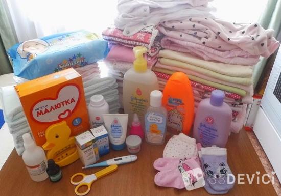 Что нужно новорожденному в роддом
