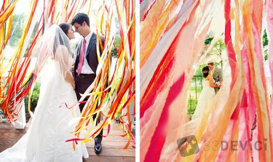 как украсить кафе на свадьбу своими руками