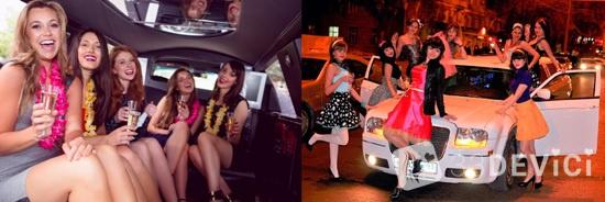 как провести девичник-вечеринку в лимузине