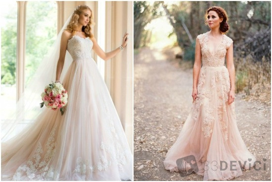 цвет свадебного платья приметы