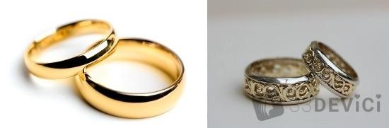 приметы про свадебные кольца