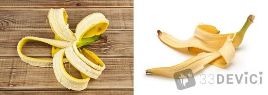 чем полезна кожура банана