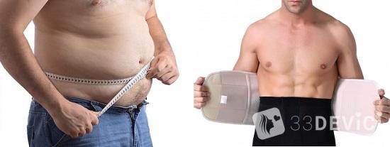 мужской корсет для похудения