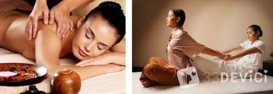 как делать тайский массаж женщинам