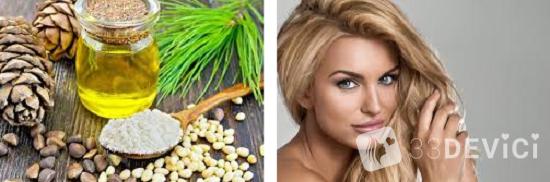 эфирное масло кедра для волос