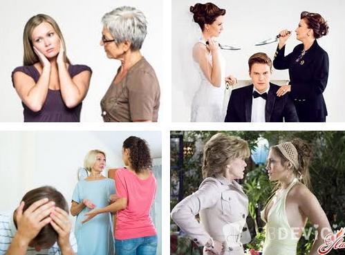 как помирить свекровь с невесткой
