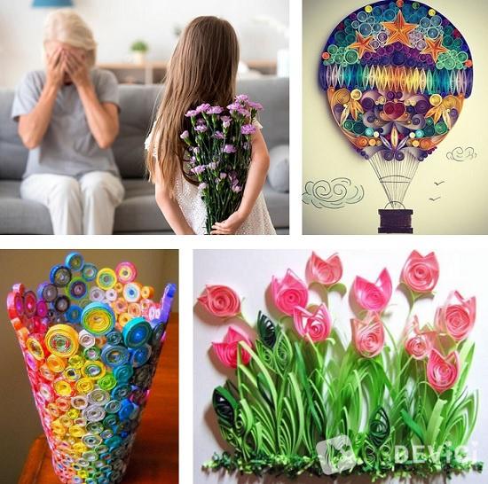 подарок своими руками для бабушки