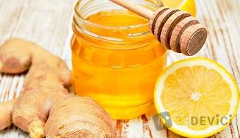 Что можно приготовить из имбиря, лимона и меда?