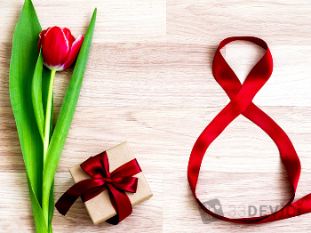 Идеи подарков на 8 марта своими руками