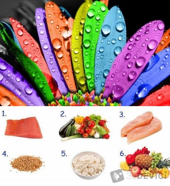 диета 6 лепестков суть диеты