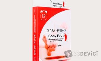 Свойства педикюрных носочков Baby Foot