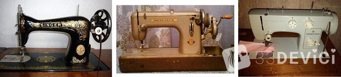 ручная швейная машинка чайка
