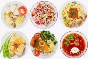 Расписание еды на неделю