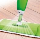 Как действует швабра с распылителем?