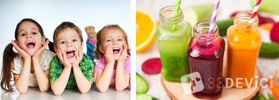 свекольный сок для детей