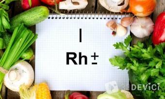Что входит в рацион диеты для 1 положительной группы крови?