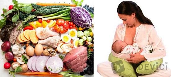 чем питаться кормящей маме