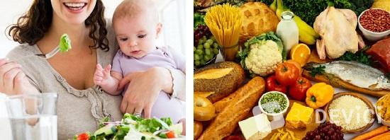 чем можно питаться кормящей маме