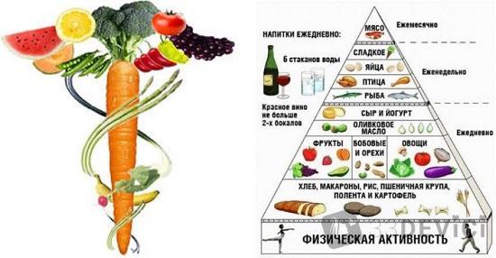 нормы правильного питания для женщин