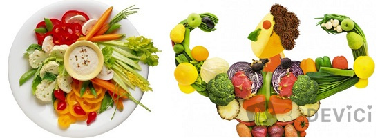 меню правильного питания на 7 дней