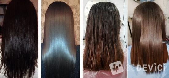 кератин для прямых волос