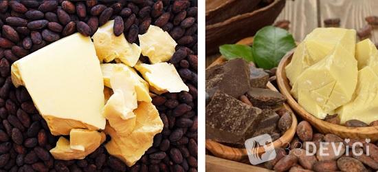 хранение масло какао