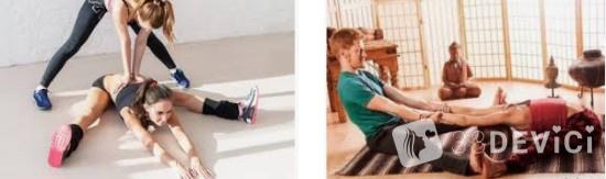 динамические упражнения для растяжки