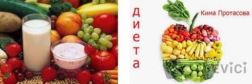 диета протасова меню понедельно