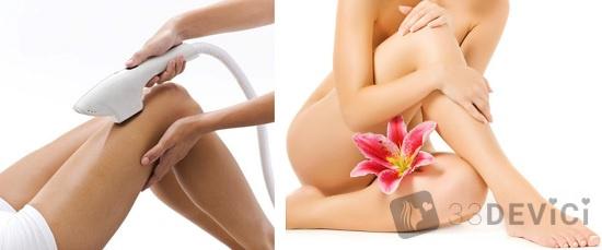 как сделать кожу ног гладкой