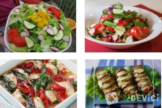 вкусные низкокалорийные блюда для похудения