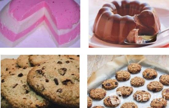 вкусные рецепты низкокалорийных десертов