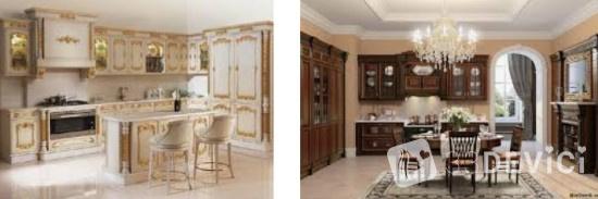 классический стиль в кухонной мебели