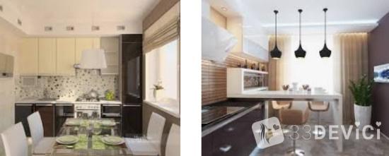 оформление кухни в частном доме своими руками фото