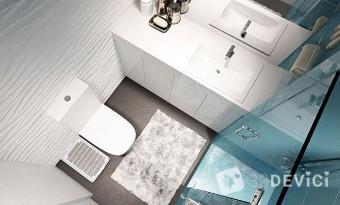 деи для оформления маленькой ванной комнаты