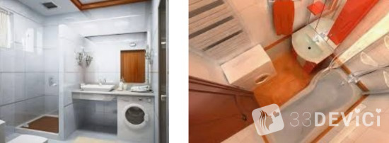 ванная со стиральной машиной