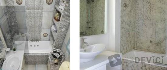 плитка в ванную с мозайкой