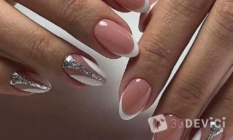 Дизайн ногтей френч