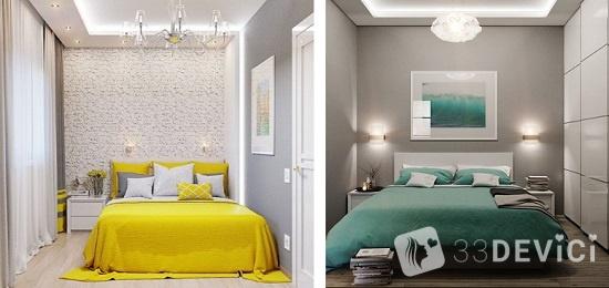как создать красивый дизайн маленькой спальни