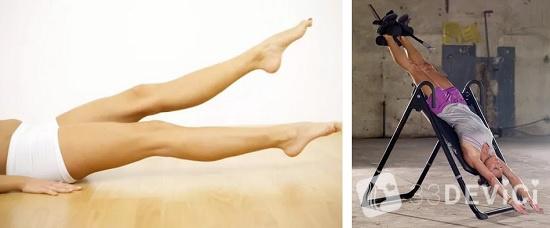 упражнения для удлинение ног