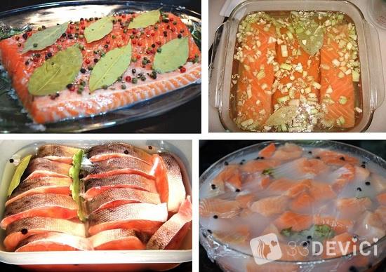 рецепт мокрого посола рыбки
