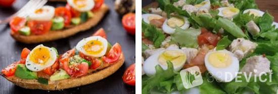 рецепт салат цезарь